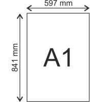 Poster SemiGloss 200 grams A1