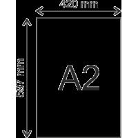 Poster Semi Gloss 200 grams A2